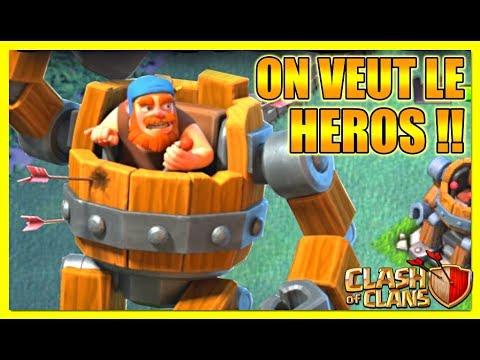 Clash Of Clans / ON FARM LE NOUVEAU HEROS !!