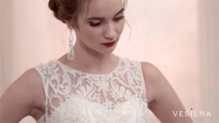Свадебное платье 2016 года от VESILNA™ модель 3017