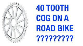 Will a 40 Tooth Cassette Fit on a Road Bike?
