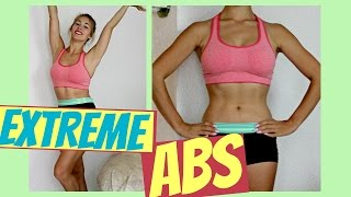 EXTREME ABS Workout // Quick and Effective