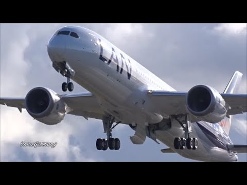LAN Airlines Boeing 787-9 Dreamliner CC-BGG Test Flight B4 Delivery @ KPAE Paine Field