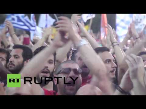 Greece: 25,000 rally for a 'NO' vote in upcoming referendum