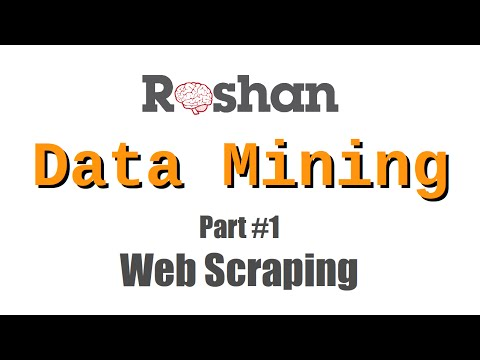 Web Scraping - Data Mining #1