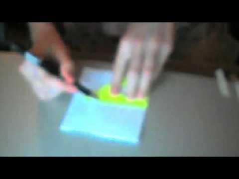 кубик рубик из бумаги