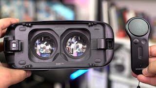معاينة نظارة سامسونج جير VR مع يدة التحكم
