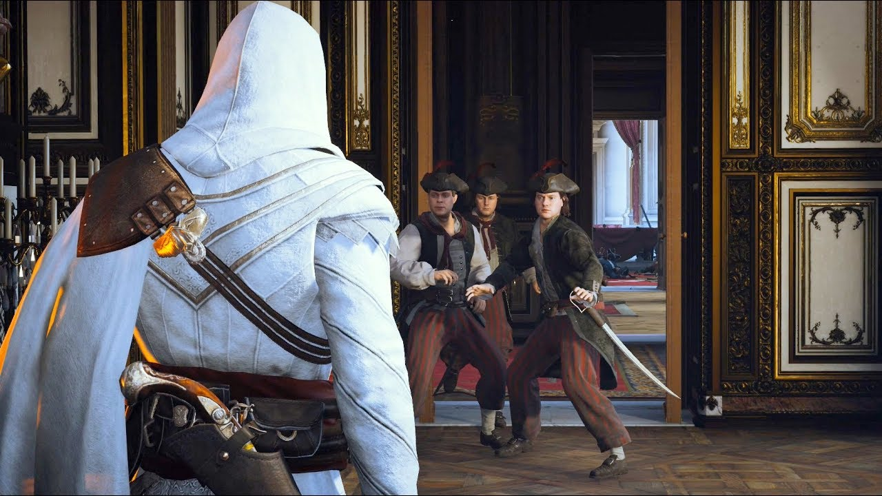 Assassin's Creed Unity Legendary Master Arno Stealth Kills &  Ezio `s Outfit  Ultra Settings thumbnail