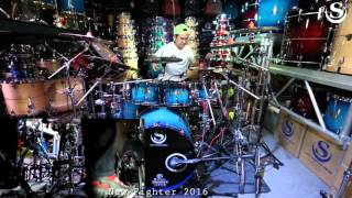 scd soo custom drum new fighter series solo by golf hatyai part iii