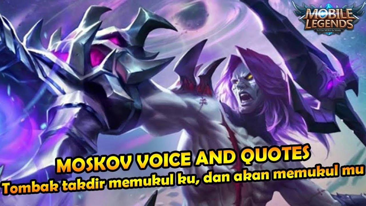 Kata Kata Bijak Moskov Mobile Legends Bahasa Indonesia