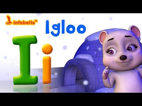 Phonics Songs | I is for Igloo | Alphabet Sounds for Children | Infobells