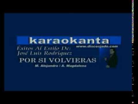 Por si volvieras Eduardo Monteiro karaoke