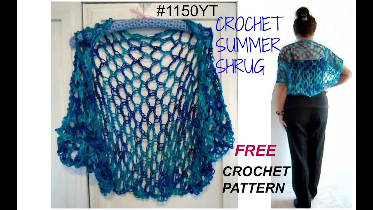 Diy crochet summer shrug pattern free pattern 1150yt small to diy crochet summer shrug pattern free pattern 1150yt small to plus size sweaters and tops bankloansurffo Choice Image