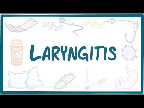 Laryngitis - causes, symptoms, diagnosis, treatment, patholo