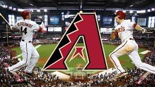 ALL Arizona Diamondbacks 2015 Home Runs