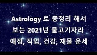 Astrology 로 총 정리해서 보는 2021년 물고기 자리 애정, 직업, 건강, 재물 운세