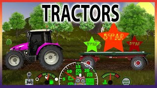 Learning with Tractors Compilation  │ Learning Colors │ Learning Sizes │ Learning Shapes
