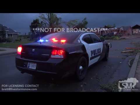 05/16/17 South Elk City, Oklahoma Tornado Damage