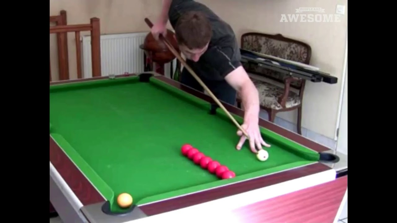 Pool snooker trick shots people are awesome youtube - Awesome swimming pool trick shots ...