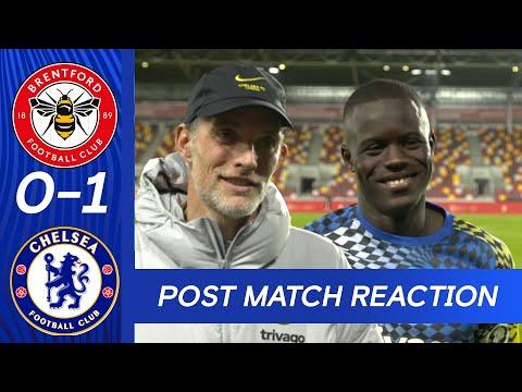 Loftus-Cheek, Sarr & Tuchel Post Match Reaction | Brentford 0-1 Chelsea | Premier League