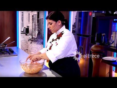 Cucinare TV - Albóndigas de merluza con dip de tomate, albahaca y ajo