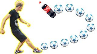 PHD | Thử Thách Sút Bóng Xoáy | Football Challenge