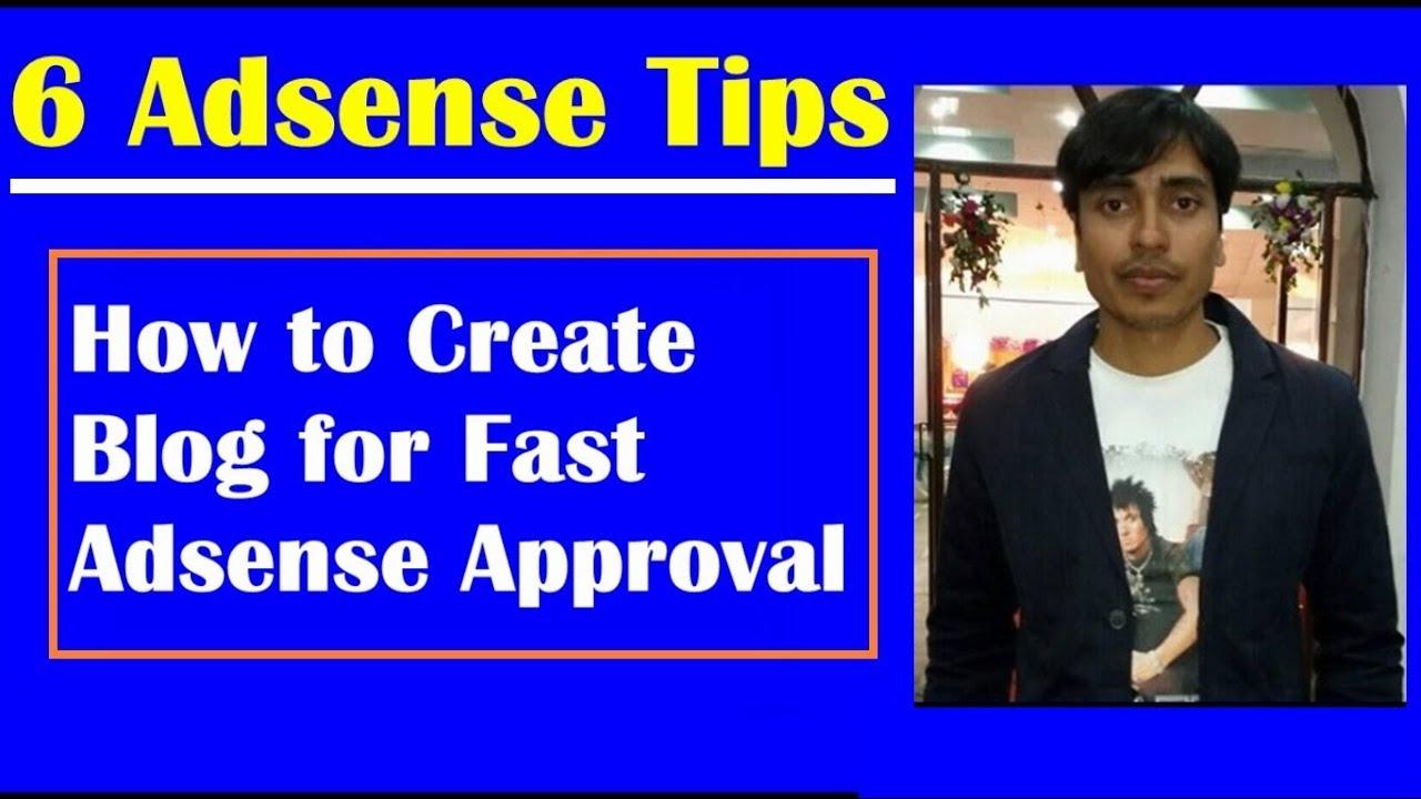 Blogger Blog for Fast Google Adsense Approval, Adsense Approval Trick 2018 | EarningBaba