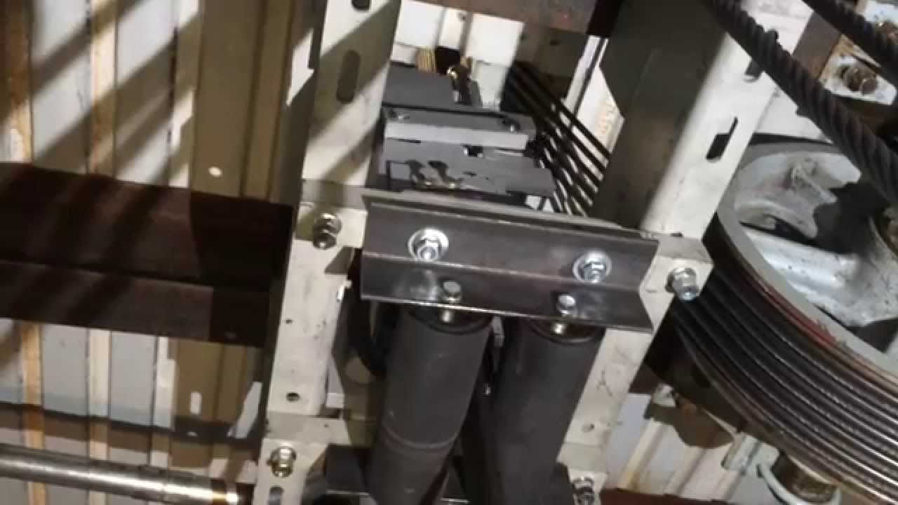 Elevator Rope Gripper Hoistway Overhead Install Hollister