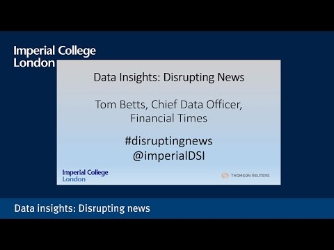 Data Insights: Disrupting News