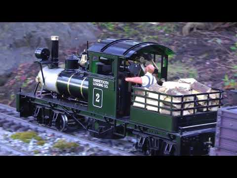 Live Steam in Memory of Fred Malone 2017 (HD)