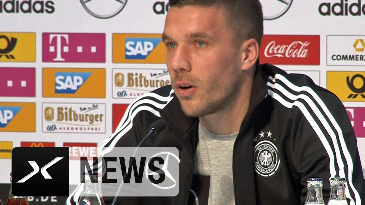 Lukas Podolski Abschied