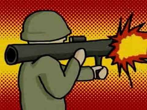 War Cartoon Animation - YouTube