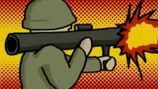 Krieg Cartoon Animation