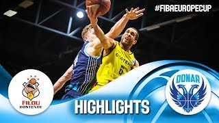 Filou Oostende v Donar Groningen - Highlights - Round of 16 - FIBA Europe Cup 2018-19