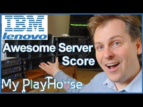 Six IBM Enterprise Rack Server Review and DS3400 Storage - 611