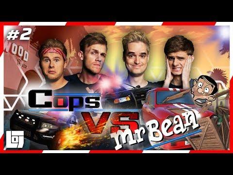 GTA V: COPS vs MR. BEAN met Roy, Milan, Don en Duncan | LOGS3 | #2