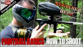 How to play paintball - The secrets of how to shoot like the pros - woodsball tips