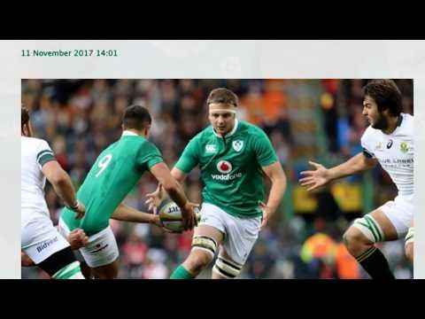 Ireland Vs South Africa 10-11-2017