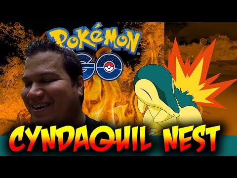 CYNDAQUIL NEST! GENERATION 2 STARTER NEST IS LIT! Pokemon GO Gen 2 EP22