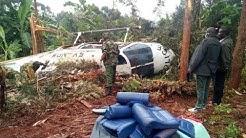 BREAKING NEWS: Chopper carrying regional security team to Marsabit crash lands at Kaithe, Meru