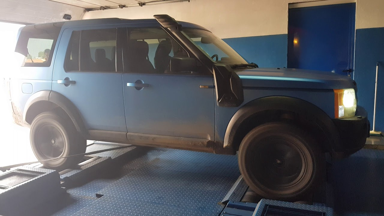 Land Rover Discovery TDv6 ecu remap