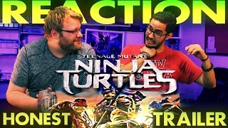 Teenage Mutant Ninja Turtles (2014) Honest Trailer REACTION!!