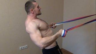 Упражнения с гантелями для спины в домашних условиях: видео