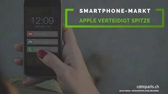 Comparis News: Smartphone-Markt Schweiz 2018