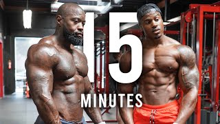 BIGGER ARMS IN 15MINS | 300+ REPS | YOU HAVE TO TRY THIS! | MIKE RASHID