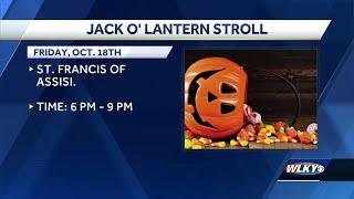 Get in full swing of fall at Jack O' Lantern Stroll