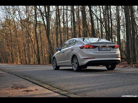 Hyundai Elantra 1.6 CRDi 2016 - POV Drive & Walkaround \ Jazda i Prezentacja