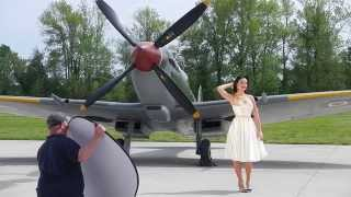 Warbird Pinup Girls - Behind the scenes 2013-2016 calendars
