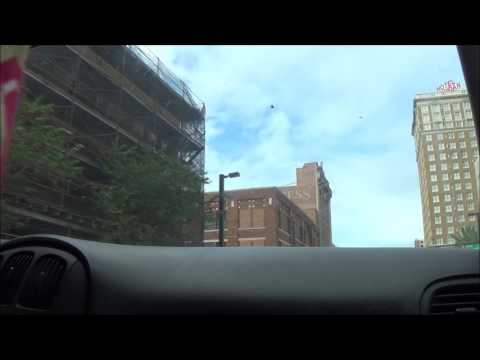 Driving around Downtown Tampa, FL