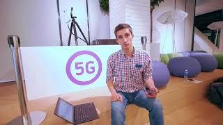Первая 5G сеть в России!