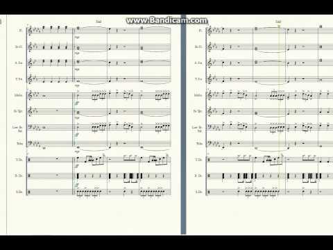Sail Marching Band Arrangement