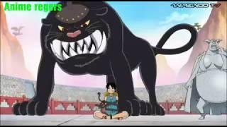Tanpa Haki Luffy Vs Bacura.|Sub indo |One piece